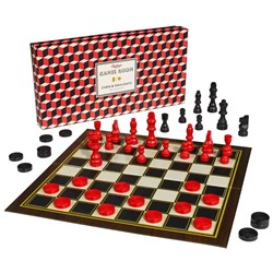 Ridley's Chess & Draughts Set | Keep up the Concentration