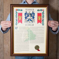 Coat of Arms & Surname History | See where you've come from!