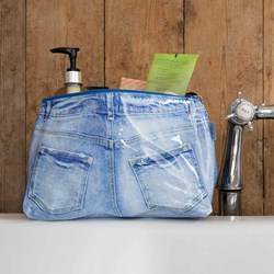 Denim Jeans Style Wash Bag | Smelling Good!