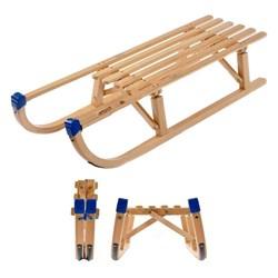 Folding Wooden Sledge or Toboggan - LIMITED STOCK