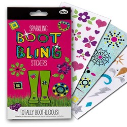 Boot Bling - Welly Boot Stickers
