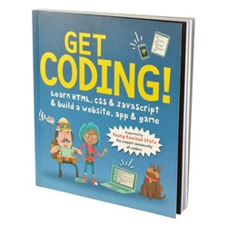 Get Coding! Book | Learn HTML, CSS & Javascript