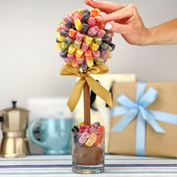 Personalised Jelly Baby Sweet Tree | 25cm Tall