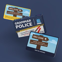 Grammar Police Game
