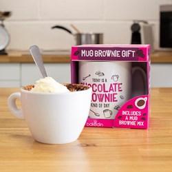 Chocolate Mug Brownie and Mug Gift Set