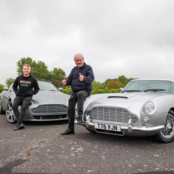 Drive An Aston Martin Replica DB5 and V8 Vantage