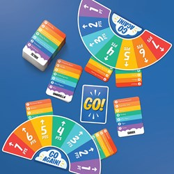 Rainbow Go Trivia Game