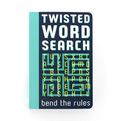 Twisted Word Search Book