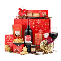 The Pippin with Red Wine Hamper