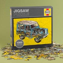 Haynes Land Rover Jigsaw | 1000 Pieces