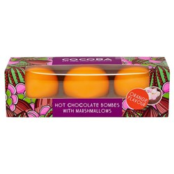 Chocolate Orange Hot Chocolate Bombes