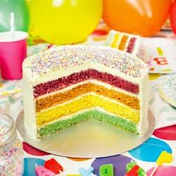 Rainbow Cake Baking Kit