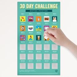 30 Day Challenge Poster Detox