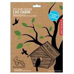 DIY Bird House Log Cabin