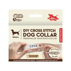 DIY Cross Stitch Dog Collar