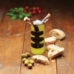 Olive Oil and Balsamic Bottle