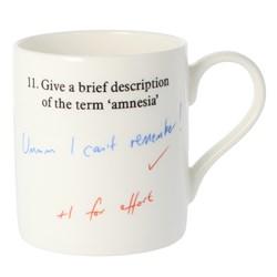 Amnesia Mug