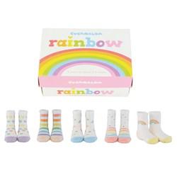 Little One's Rainbow Socks