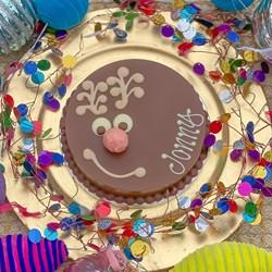 Personalised Mini Vegan Rudolph Smash Cake