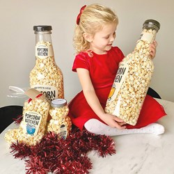 Giant Popcorn Salty and Sweet