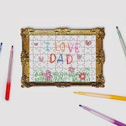 Framed Personalised Drawing Puzzle