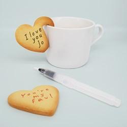 Personalised Heart Cookie Kit