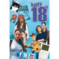 Happy 18th Birthday CD Music Card