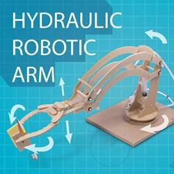 Hydraulic Robotic Arm | Build yourself!