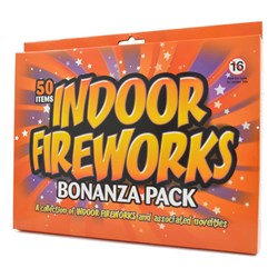 Indoor Fireworks | a set of 50 mini fireworks