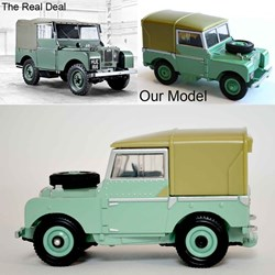 Model Land Rover Series 1  _ Limited Edition model by Britains