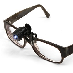 Mini Clip-on LED Spotlight for Glasses/Spectacles