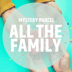 Mystery Parcel for All The Family: worth over £85!