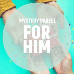 Mystery Parcel for Him: worth over £85!