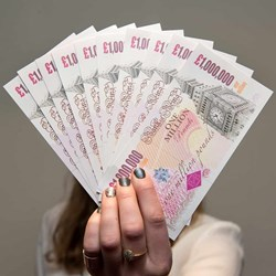 One Million Pound Note | Single Note