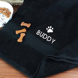 Personalised Dog Towel | A soft yet durable dog towel