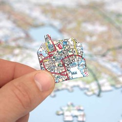 Personalised OS Map Jigsaw Puzzle