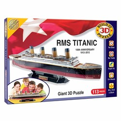 RMS Titanic 3D Puzzle   Giant 3D Puzzle