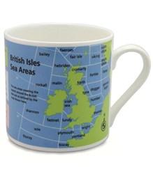 Sea Areas of the British Isles Large Mug