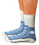 Sneaker Socks - Blue These are cool!