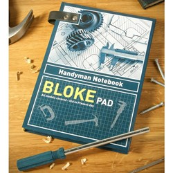 The Bloke Pad  Notebook