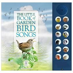 The Little Book of Garden Bird Songs | Complete with bird sounds!