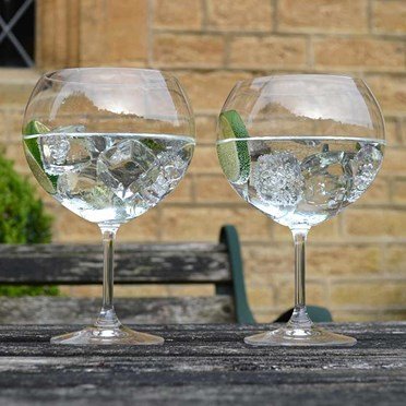 Set of 6 Giant Gin Glasses