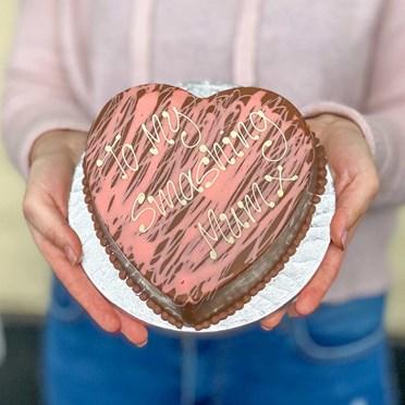 Personalised Pink Smash Heart