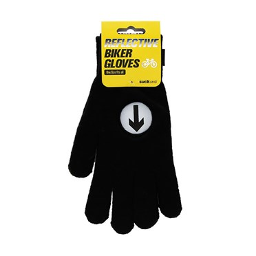 An image of Cyclists Hi-Vis Gloves