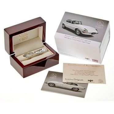 An image of Jaguar E-Type Cufflinks