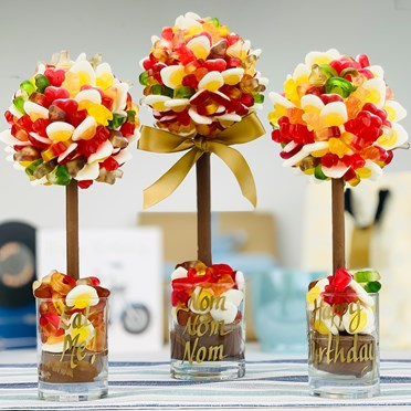 An image of Personalised Haribo Sweet Tree