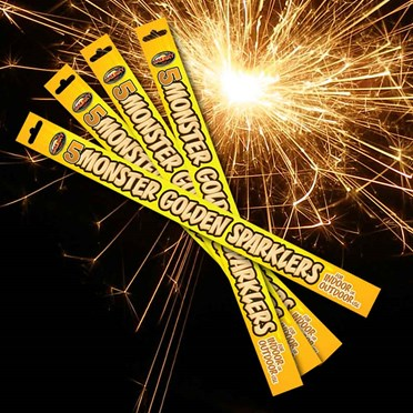 An image of Monster Sparklers | Pack of 20