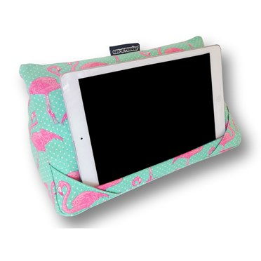 Flamingo Design Tablet Cushion