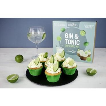 Gin & Tonic Cupcake Kit