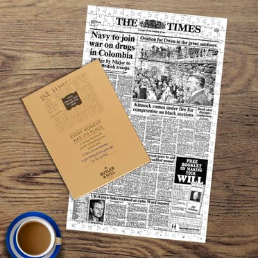 Personalised The Times Frontpage Jigsaw Puzzle